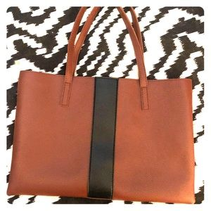 Vince Camuto Vegan Leather Tote